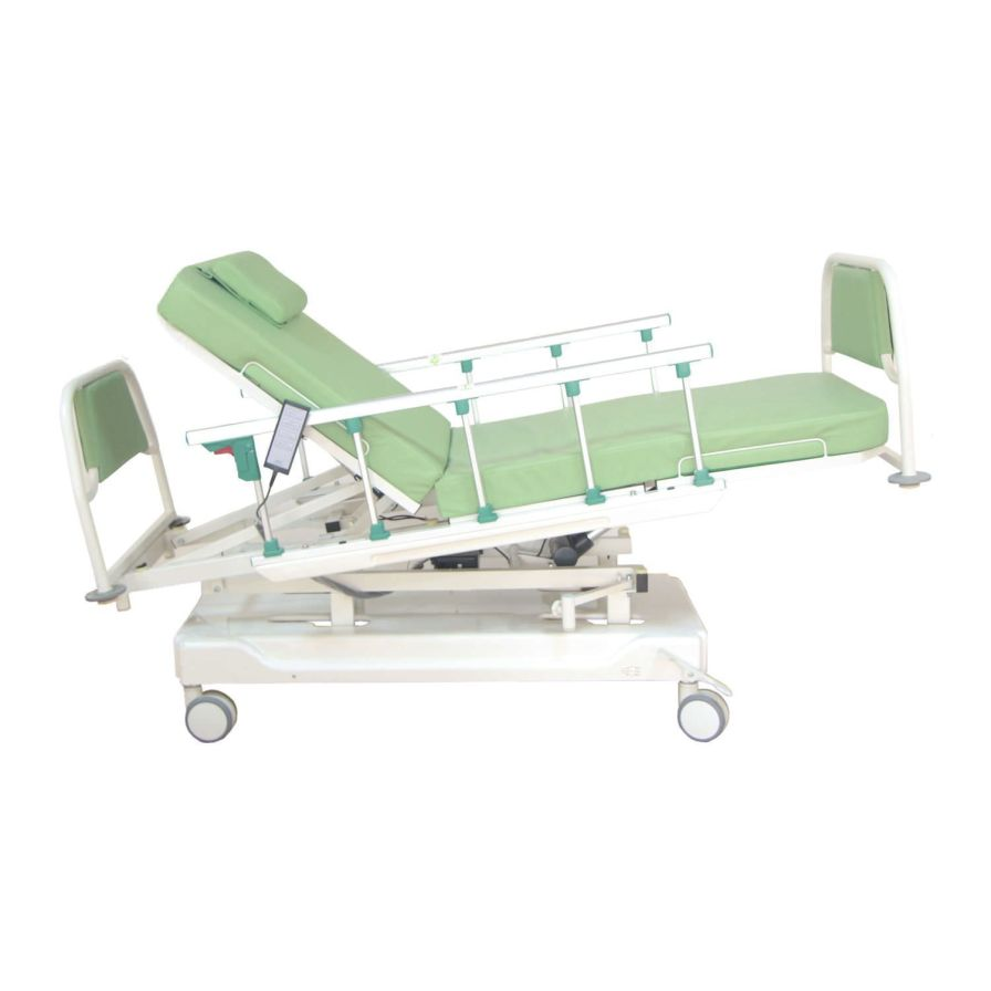 Blood donation bed / electrical / height-adjustable / 3 sections PY-CD-380S Nanning passion medical equipment