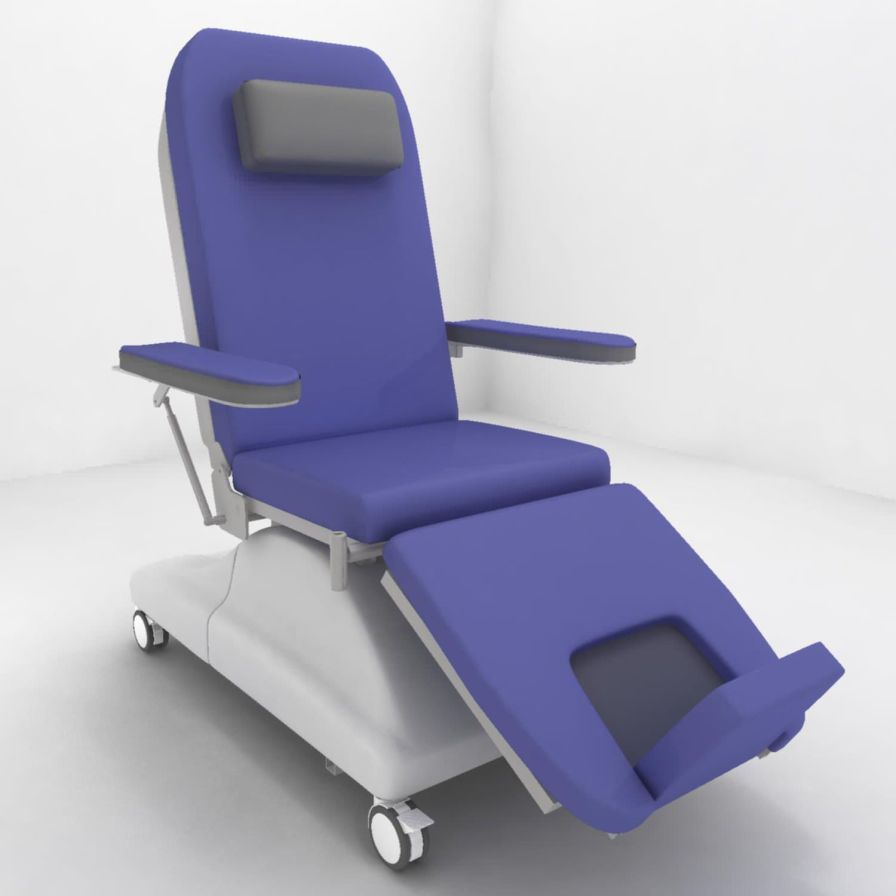 Blood donation chair / bariatric PY-YD-210 Nanning passion medical equipment