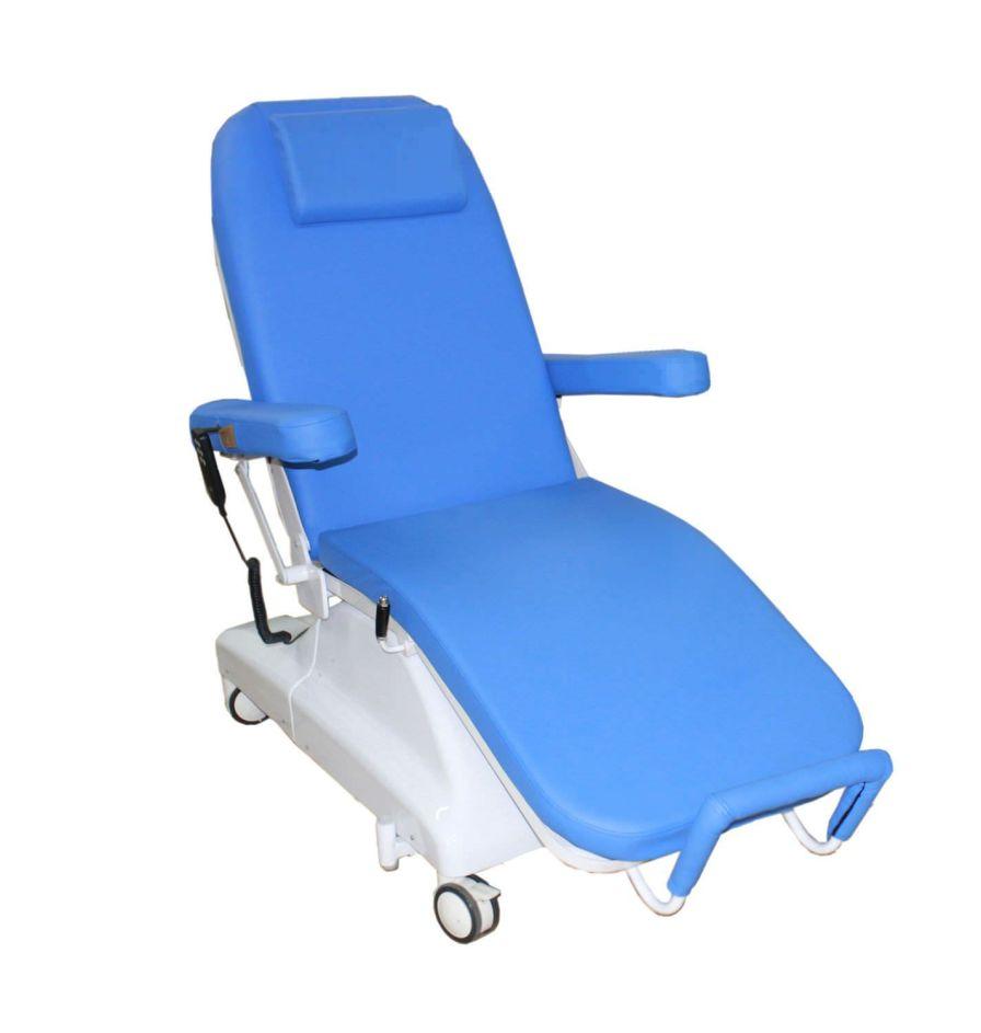 Bariatric examination chair / phlebotomy / Trendelenburg / 3-section PY-YD-210 Nanning passion medical equipment