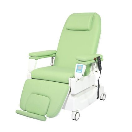 Electrical dialysis armchair / height-adjustable / on casters / 3 sections PY-YD-340 Nanning passion medical equipment