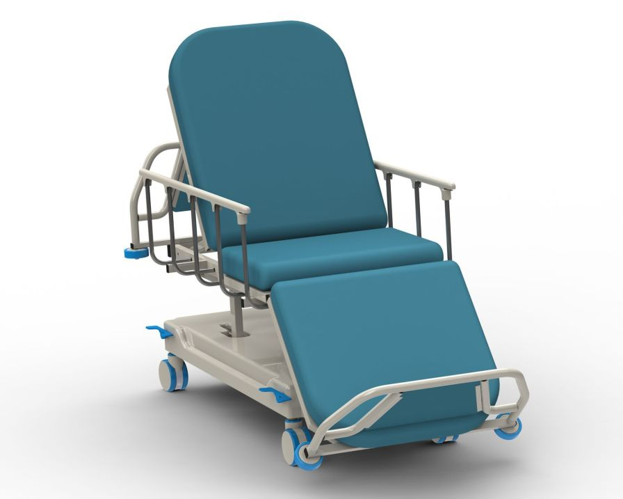 Hemodialysis bed / electrical / on casters / height-adjustable PY-CD-390 Nanning passion medical equipment