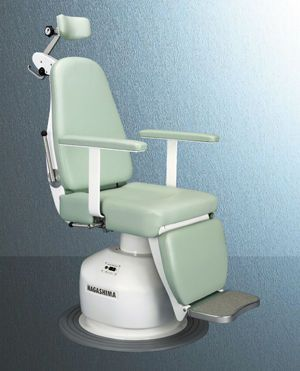 ENT examination chair / electrical / height-adjustable / 3-section EMC-? Nagashima Medical Instruments