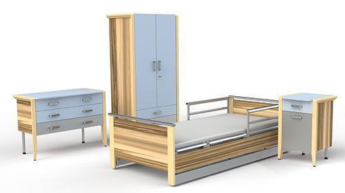 Hospital ward furniture set HARMONY MMO