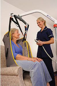 Mobile patient lift / hydraulic Major 200 MMO