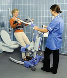 Mobile patient lift / folding Journey MMO