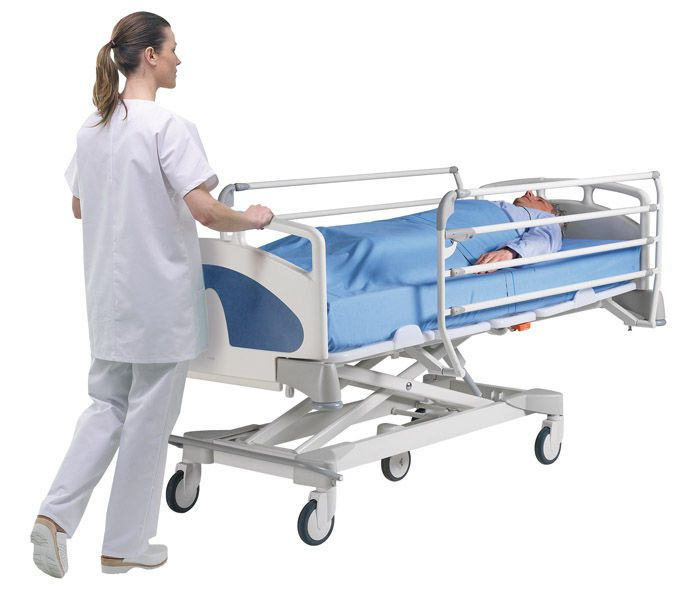 Intensive care bed / electrical / height-adjustable / 4 sections TEMPO 1200 MMO