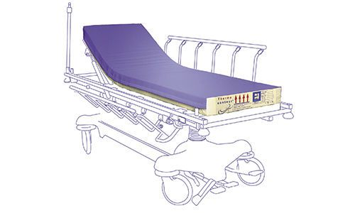 Anti-decubitus mattress / for hospital beds / foam / multi-layer Therapeutic MMO