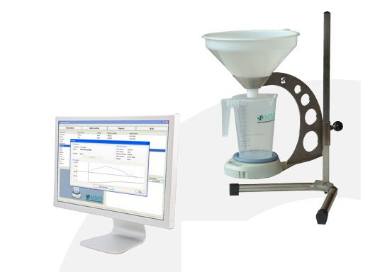Wireless urinary flow meter / computer-based FLOWMASTER MMS Medical Measurement Systems