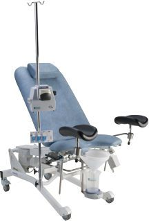 Urological examination chair / gynecological / electrical / height-adjustable 520-6302 / 520-6302-U / 520-6303 / 520-6210 MMS Medical Measurement Systems