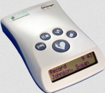 Gastro-esophageal pH meter / portable Ohmega MMS Medical Measurement Systems