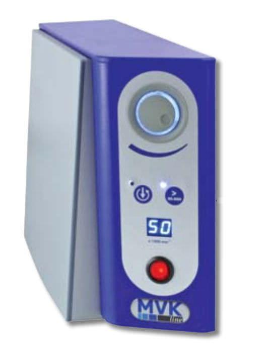 Dental laboratory micromotor control unit / knee-operated MVK2 MVK-line