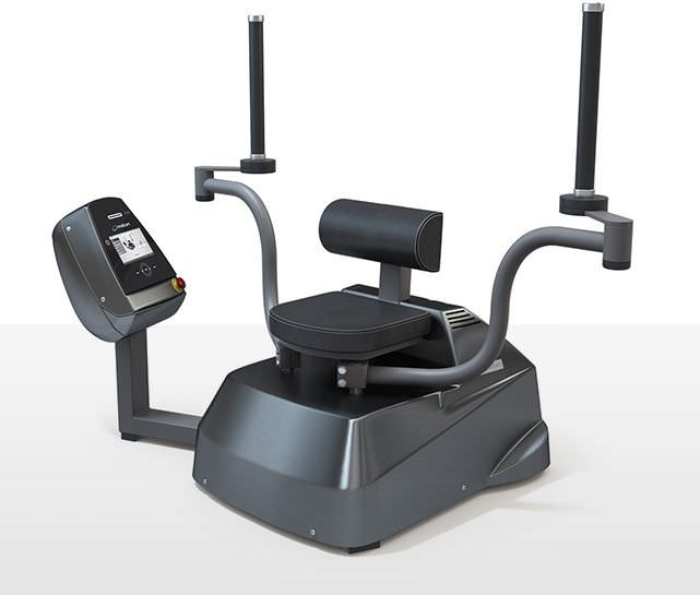 Weight training station (weight training) / butterfly / traditional miltronic milon industries