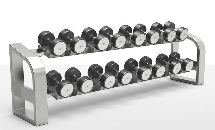 Short barbell rack milcanic milon industries