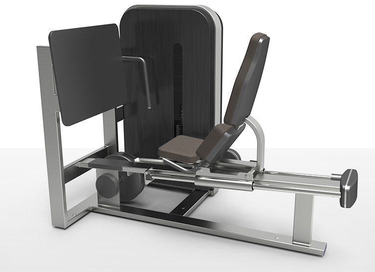 Weight training station (weight training) / leg press / traditional milcanic milon industries