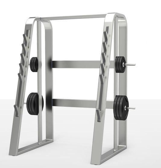 Power cage (weight training) / squat / traditional milcanic milon industries