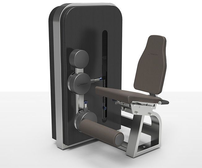 Weight training station (weight training) / leg extension / traditional milcanic milon industries