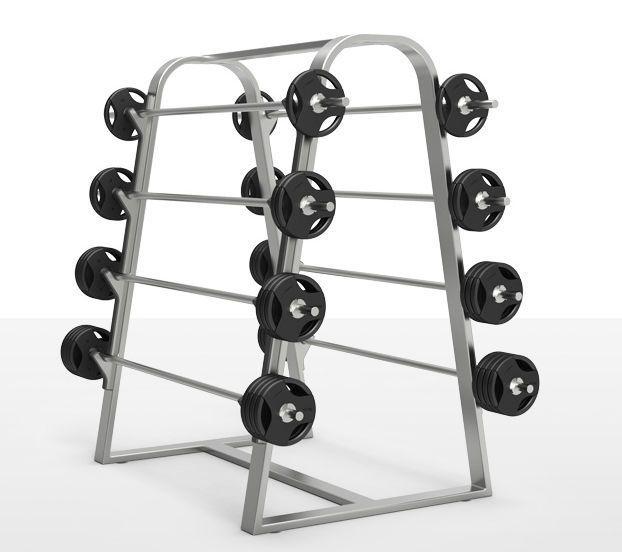 Long barbell rack milcanic milon industries