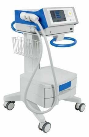 Orthopedic treatment extra-corporeal shock wave generator / human / on trolley orthogold100 MTS Medical UG