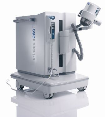 Orthopedic treatment extra-corporeal shock wave generator / human / on trolley orthogold280 MTS Medical UG