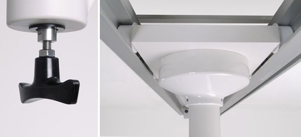 Medical monitor support arm / ceiling-mounted Portegra2 MAVIG