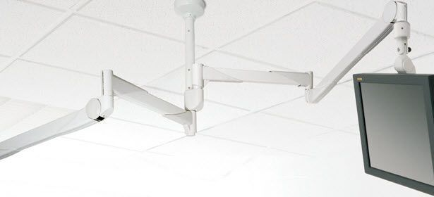 Medical monitor support arm / ceiling-mounted GD4020/4021 MAVIG