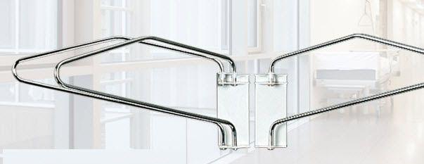 Wall-mounted X-ray apron rack AW421 MAVIG