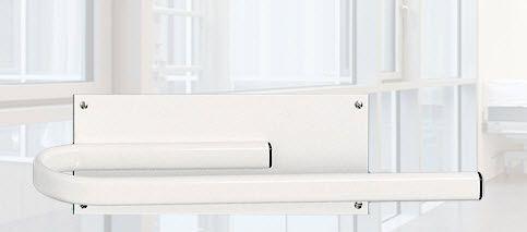 Wall-mounted X-ray apron rack AW412 MAVIG