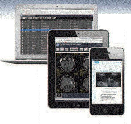 Web-based picture archiving and communication system / medical Vision Tools Millensys