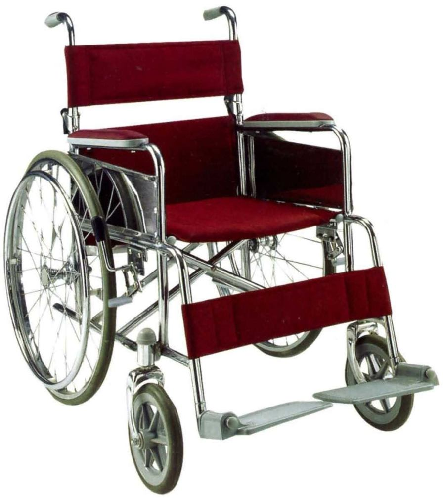 Passive wheelchair / folding MW6-02 Minwa (Aust) Pty Ltd.