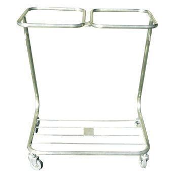 Dirty linen trolley / 2-bag Minwa (Aust) Pty Ltd.
