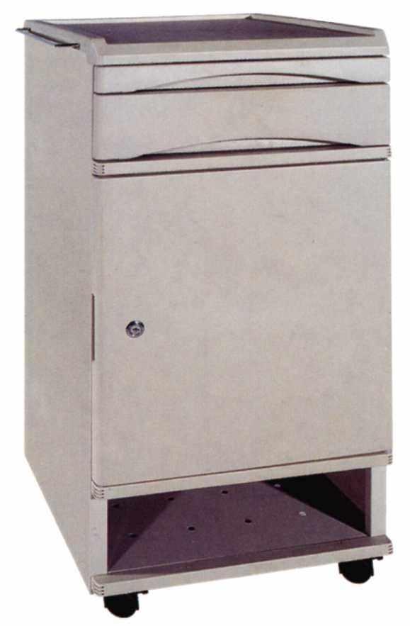 Bedside table / on casters MW-313 Minwa (Aust) Pty Ltd.