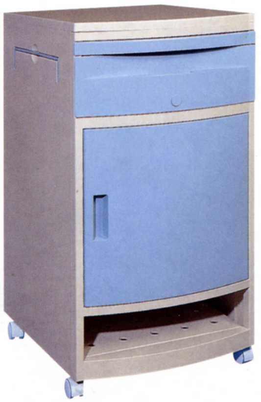 Bedside table / on casters MW-316 Minwa (Aust) Pty Ltd.