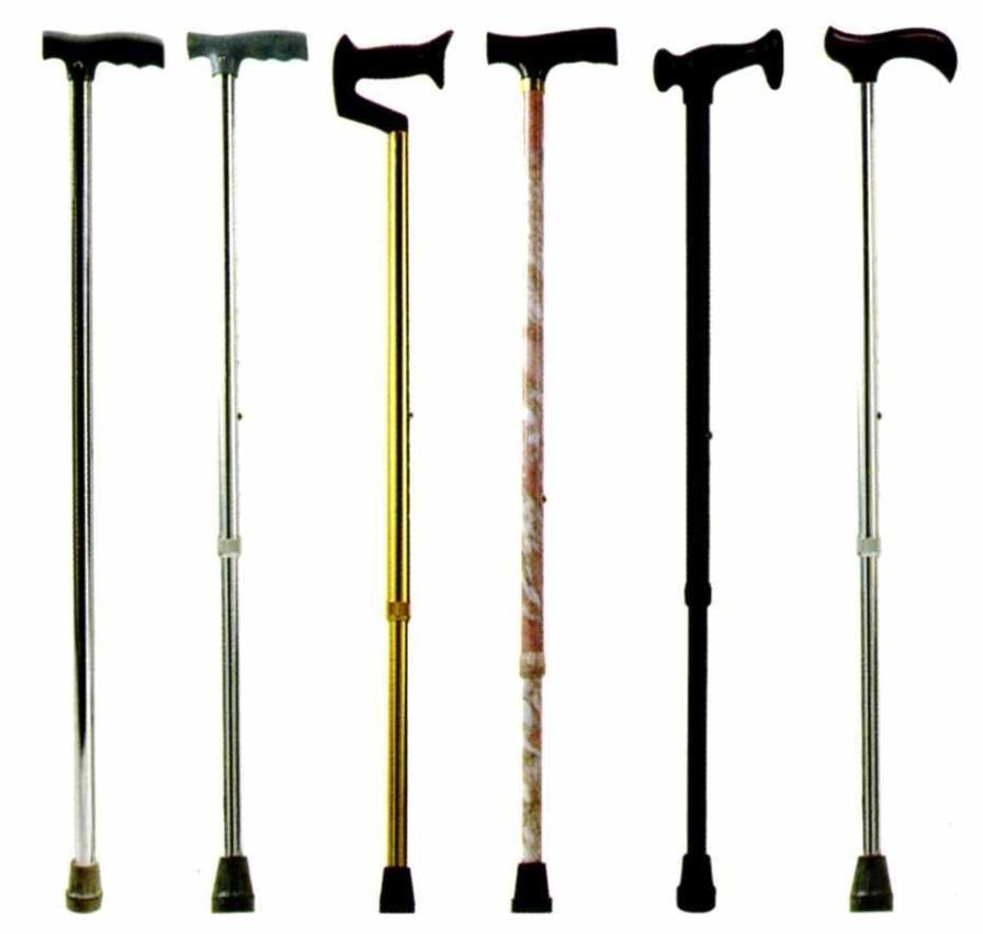T handle walking stick / height-adjustable Minwa (Aust) Pty Ltd.