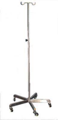 2-hook IV pole / telescopic / on casters Minwa (Aust) Pty Ltd.