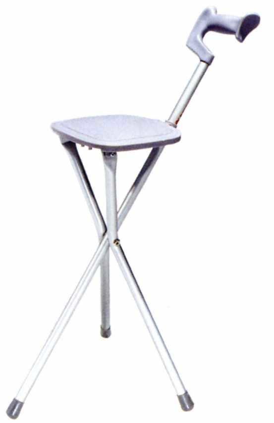 Walking stick with seat / folding MW7-22 Minwa (Aust) Pty Ltd.
