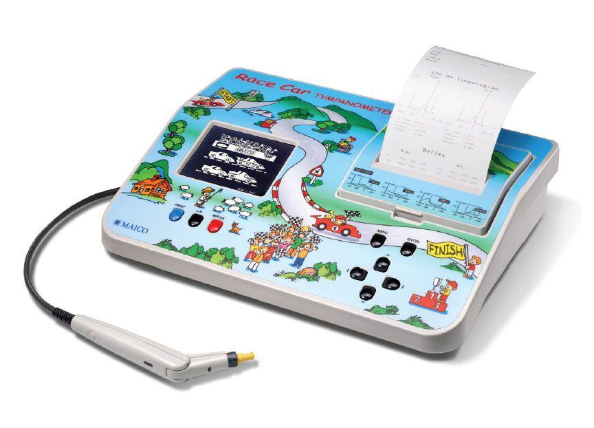 Screening tympanometer (audiometry) / tympanometer / for pediatric audiometry / digital RaceCar MAICO Diagnostic