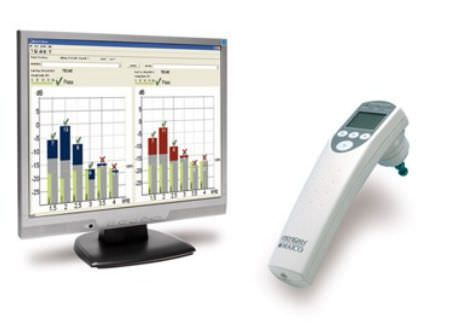 (audiometry) / otoacoustic emission measurement system / digital ERO?SCAN Screener MAICO Diagnostic