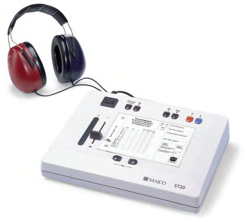 Screening audiometer (audiometry) / audiometer / digital ST 20 MAICO Diagnostic