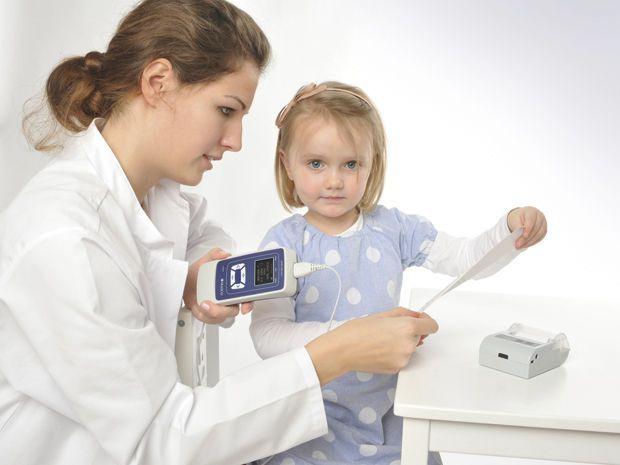 (audiometry) / otoacoustic emission measurement system / portable ERO?SCAN® MAICO Diagnostic
