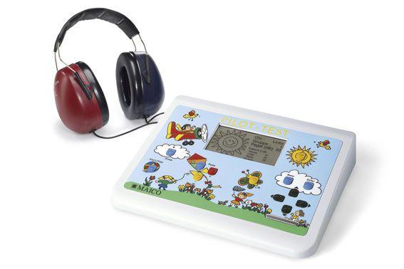 Audiometer (audiometry) / screening audiometer / for pediatric audiometry / digital Pilot Hearing Test MAICO Diagnostic