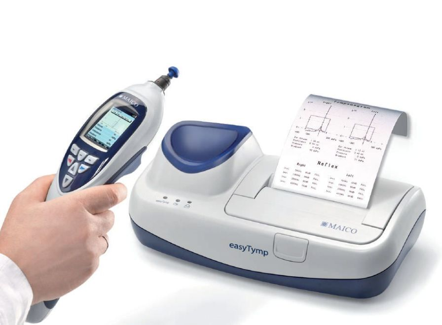 Reflex tester (audiometry) / screening tympanometer / digital / portable easyTymp™ MAICO Diagnostic