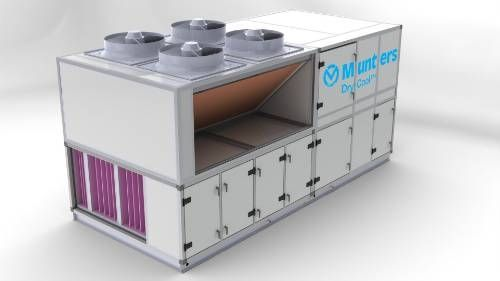 Dehumidifier for healthcare facilities / air / desiccant DryCool™ Munters