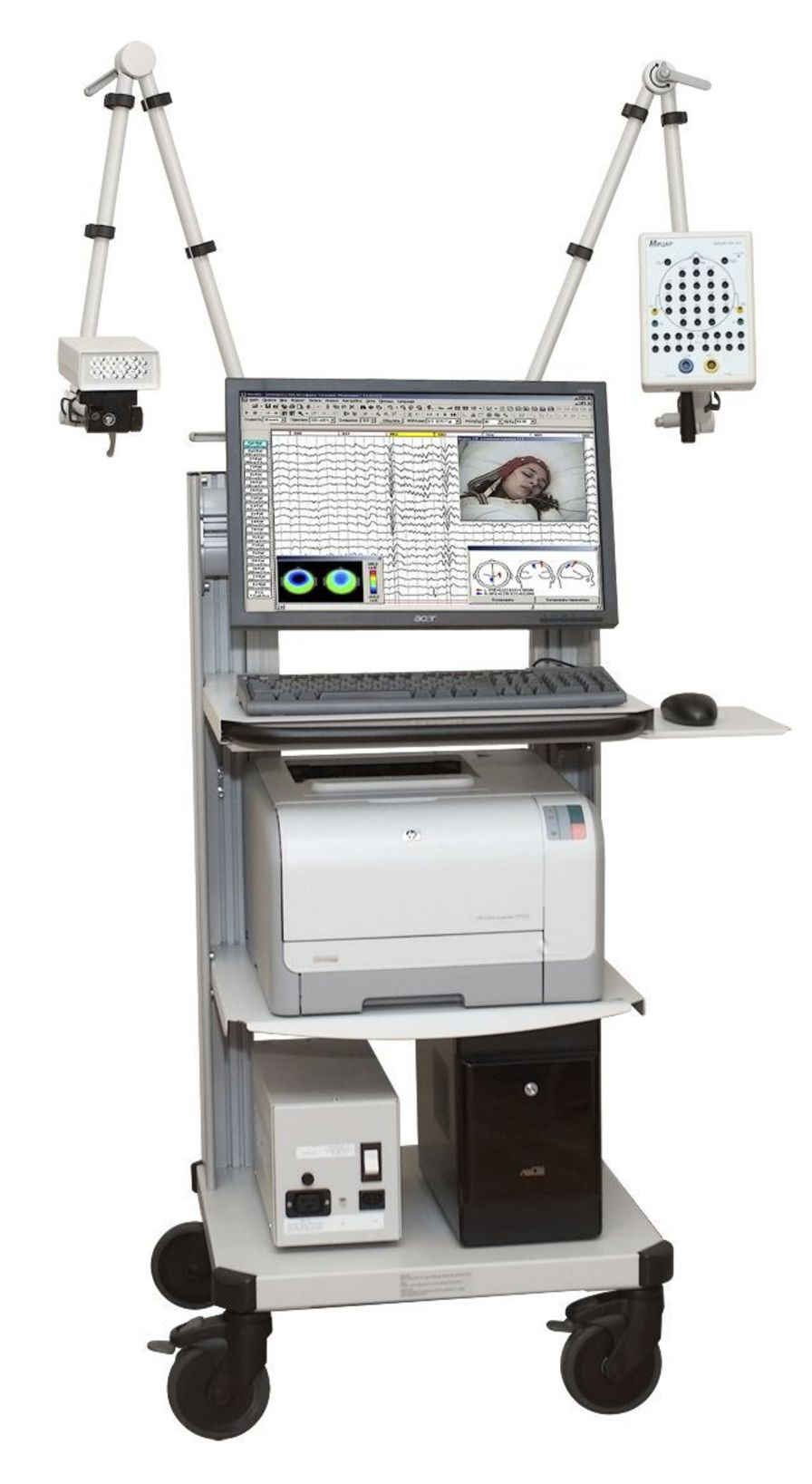 Mobile electroencephalograph / 32-channel / 25-channel Mitsar-EEG Mitsar Co Ltd
