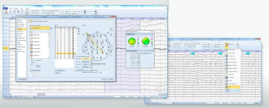 Acquisition software / calibration / medical / EEG EEGStudio Mitsar Co Ltd