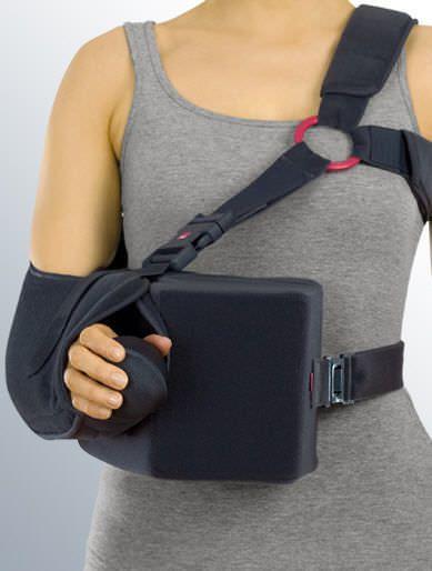 Arm sling with shoulder abduction pillow / human SLK 90 medi