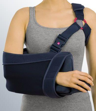 Arm sling with shoulder abduction pillow / human medi SAS® multi medi
