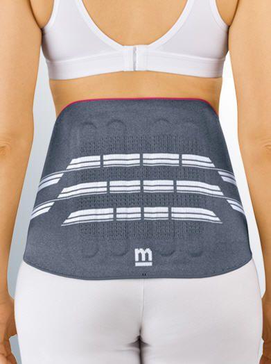 Lumbar support belt / with reinforcements Lumbamed® basic medi