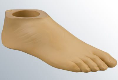 Foot prosthesis (lower extremity) / shock absorption / silicone / class 3 medi DynaWalk M3LP 136 medi