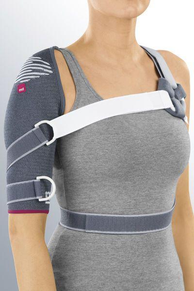 Shoulder orthosis (orthopedic immobilization) / immobilisation / flexible Omomed® medi