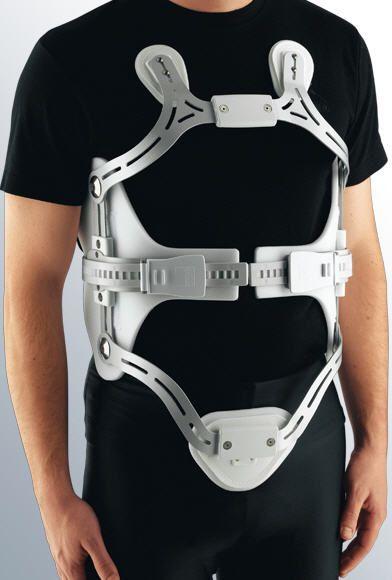 Posture corrective orthosis (orthopedic immobilization) / vertebral hyperextention / with 3-point base system medi 4C medi